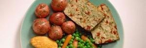 chiftele din orez cu legume