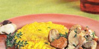 medalioane de orez cu ciuperci