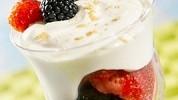 reteta de crema de iaurt cu fructe