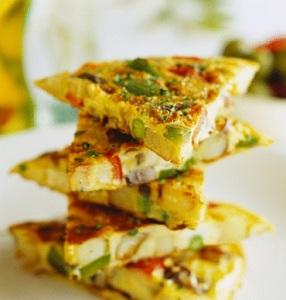 Tortilla de legume