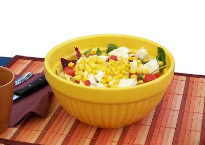 salata porumb legume