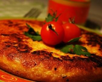 omleta la cuptor cu dovlecei