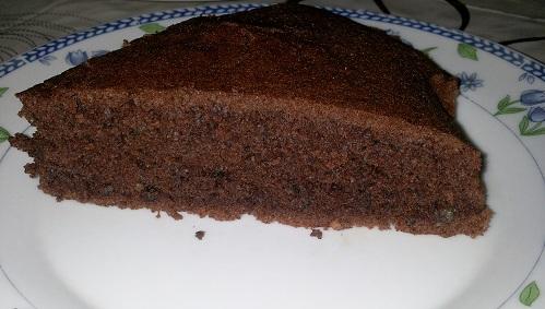 Prajitura din albusuri, cu cacao