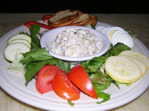 Salata boeuf.. varianta vegetariana