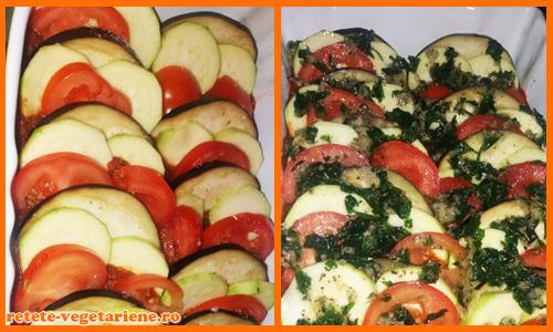 mancare de legume ratatouille la cuptor